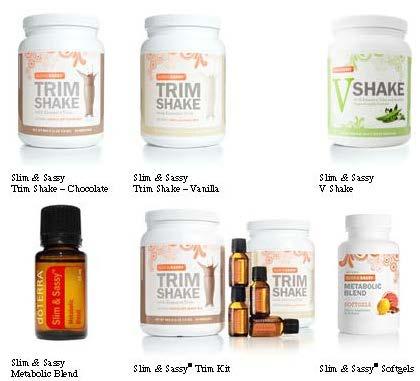 how to use slim and sassy trim shake